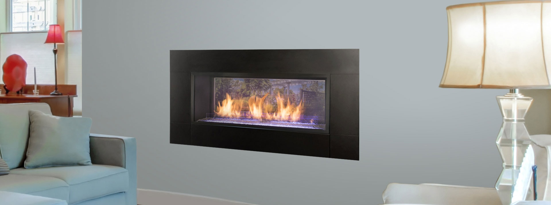 Artisan See Through Vent Free Gas Fireplaces Monessen Hearth