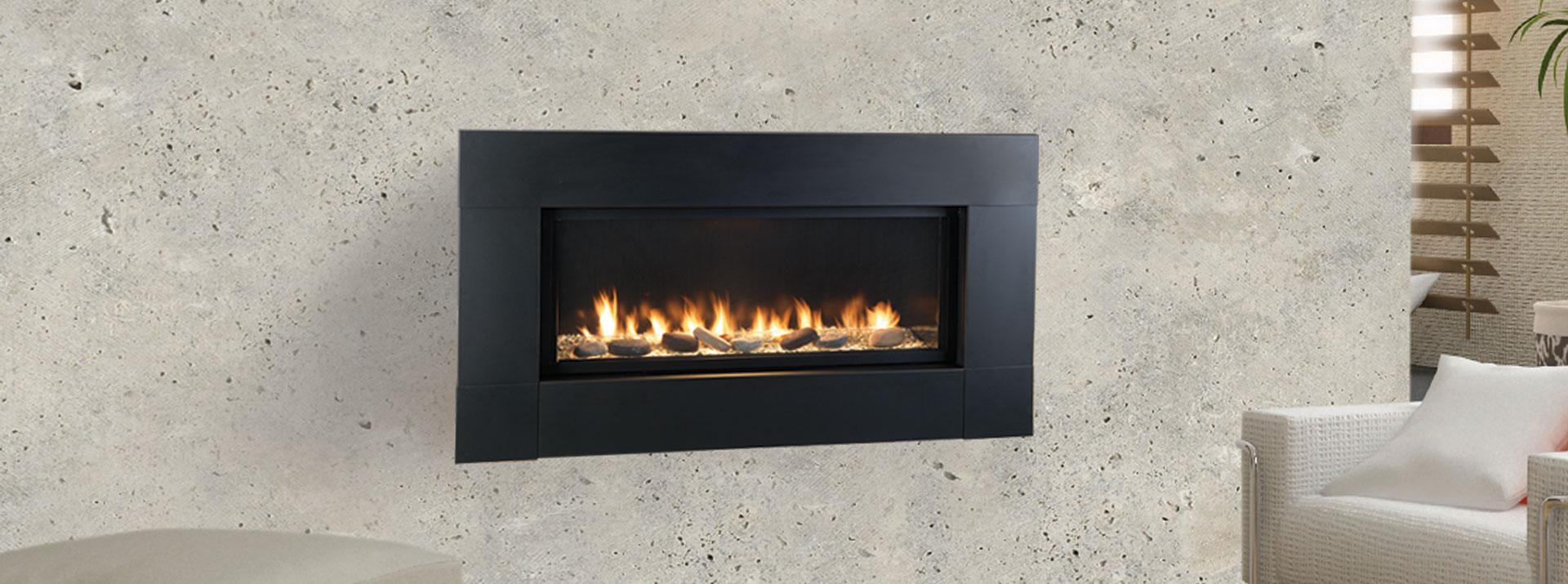 Artisan vent free gas fireplace