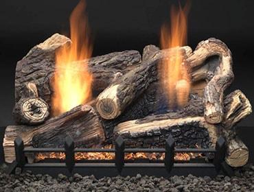 Kentucky Wildwood Vent Free Gas Log Set