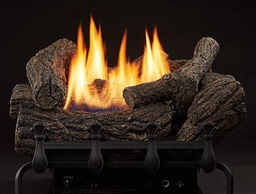 Mountain Cedar Vent Free Gas Log Set