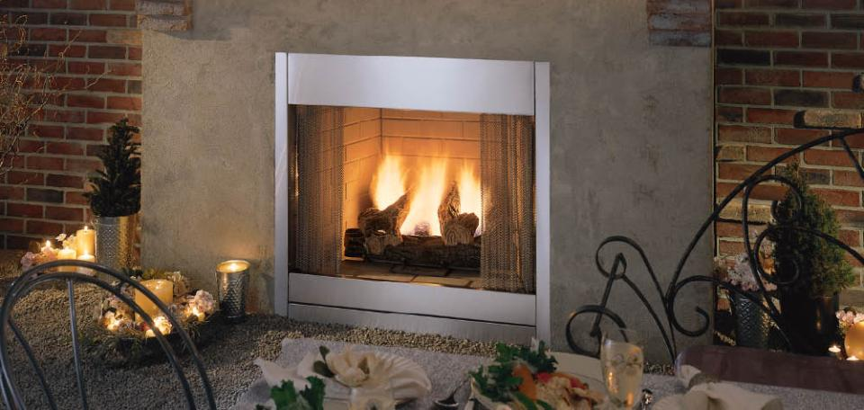 outdoor gas fireplace logs. Al Fresco Gas Outdoor Fireplace Fireplaces by Monessen Hearth