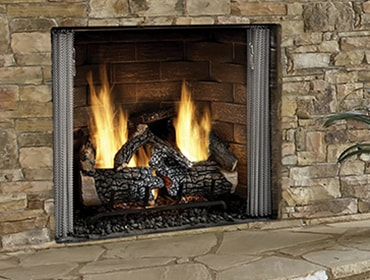 Carolina Gas Outdoor Fireplace