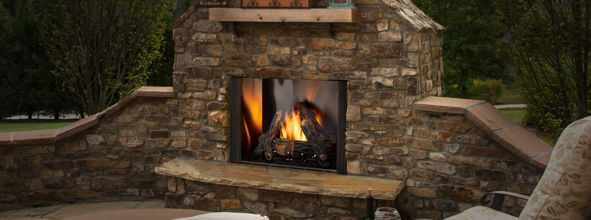 Courtyard Gas Outdoor Fireplace Monessen Hearth