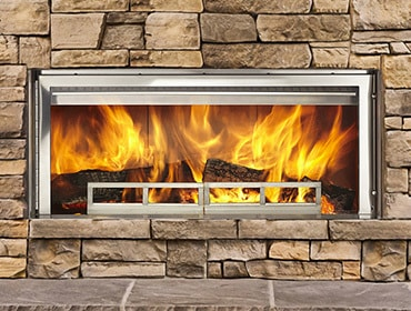 Longmire Wood Outdoor Fireplace