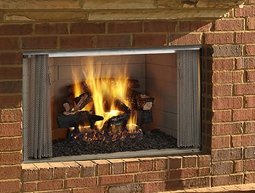 Villawood Wood Burning Outdoor Fireplace