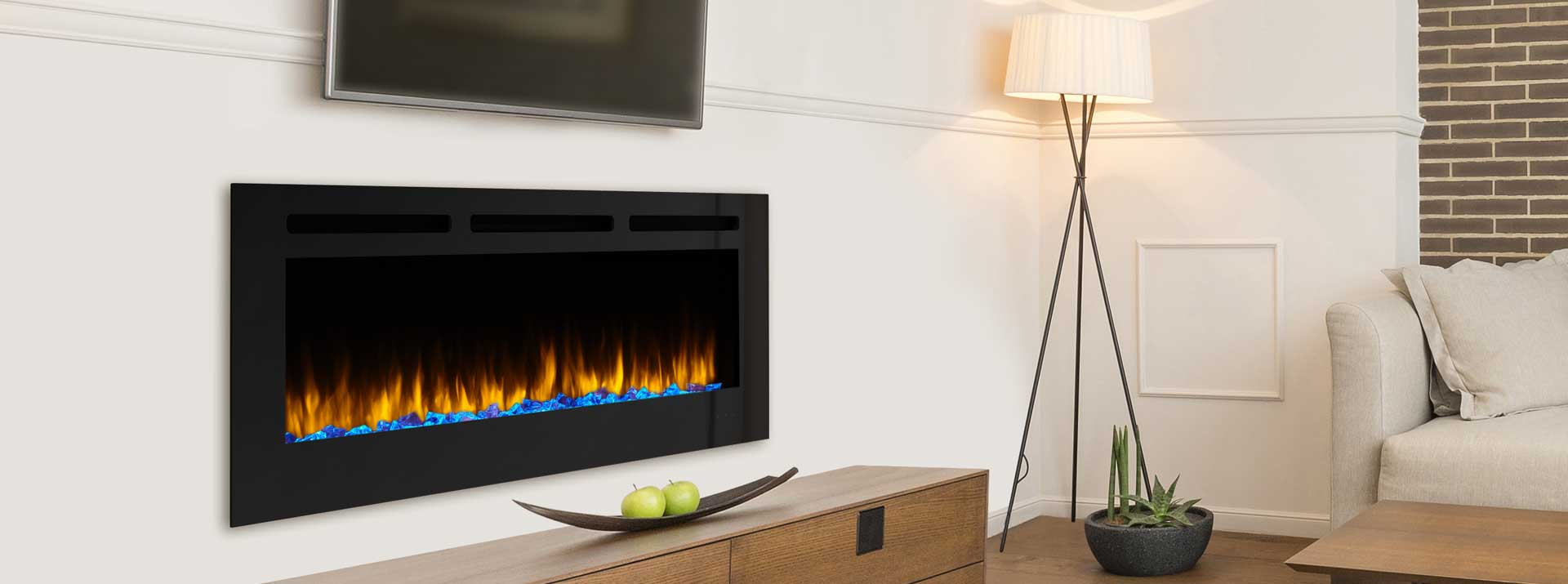 Simplifire Allusion Electric Fireplace Series Monessen