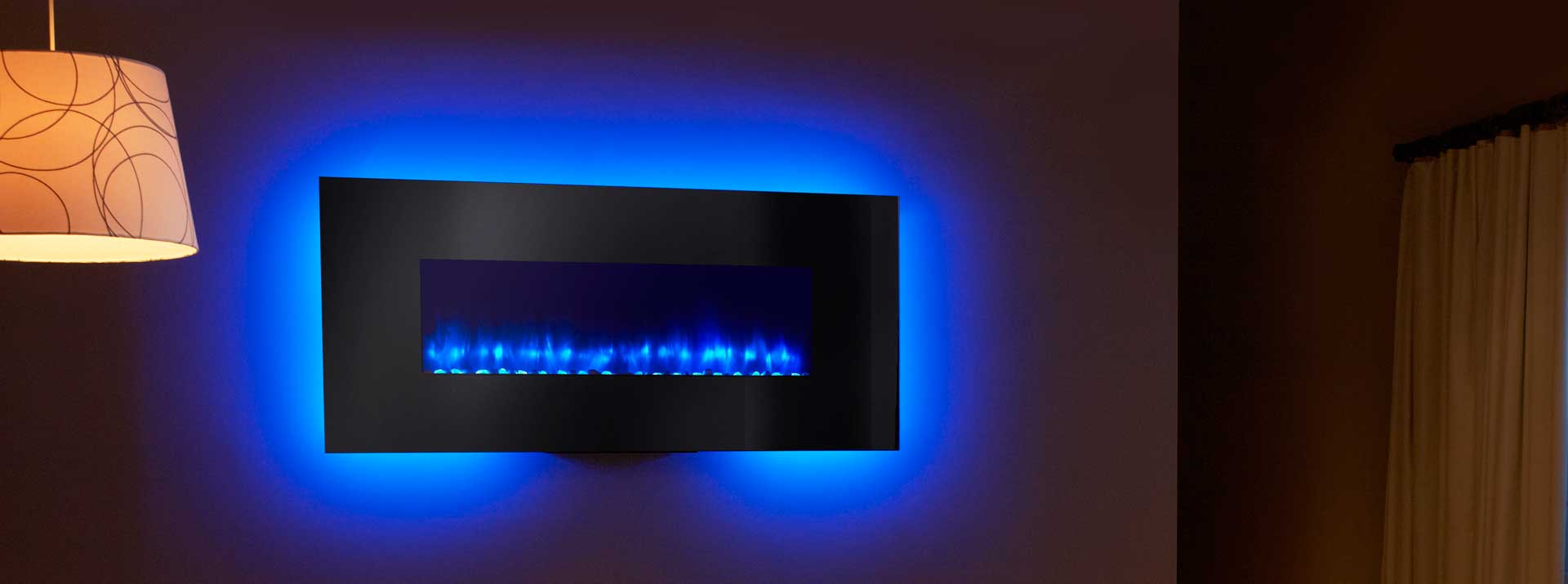 Simplifire Wall Mount Electric Fireplace