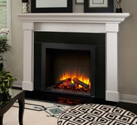 <strong>SimpliFire Built-In</strong> Electric Fireplace Series