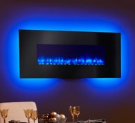 SimpliFire Wall-Mount Electric Fireplace Series