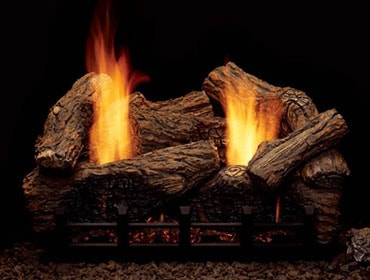 Highland Oak Refractory Vent Free Gas Log Set