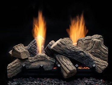 Natural Blaze See-Thru Vent Free Gas Log Set