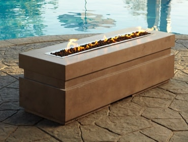 Plaza Outdoor Gas Fire Pit