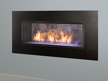 Artisan See-Through Vent Free Gas Fireplace