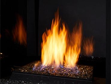 Lyric Vent Free Contemporary Gas Burner