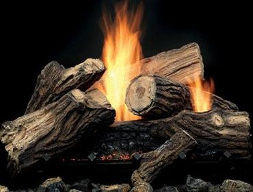 Mojo Vent Free Gas Log Set