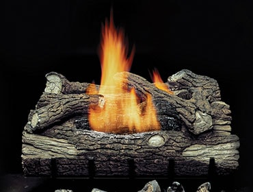 Mountain Oak Vent Free Gas Log Set
