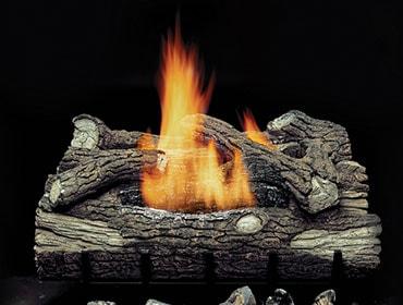 Mountain Oak Vent Free Gas Log Set
